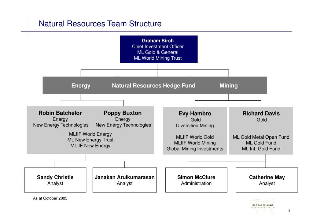 Natural Resources Team Structure