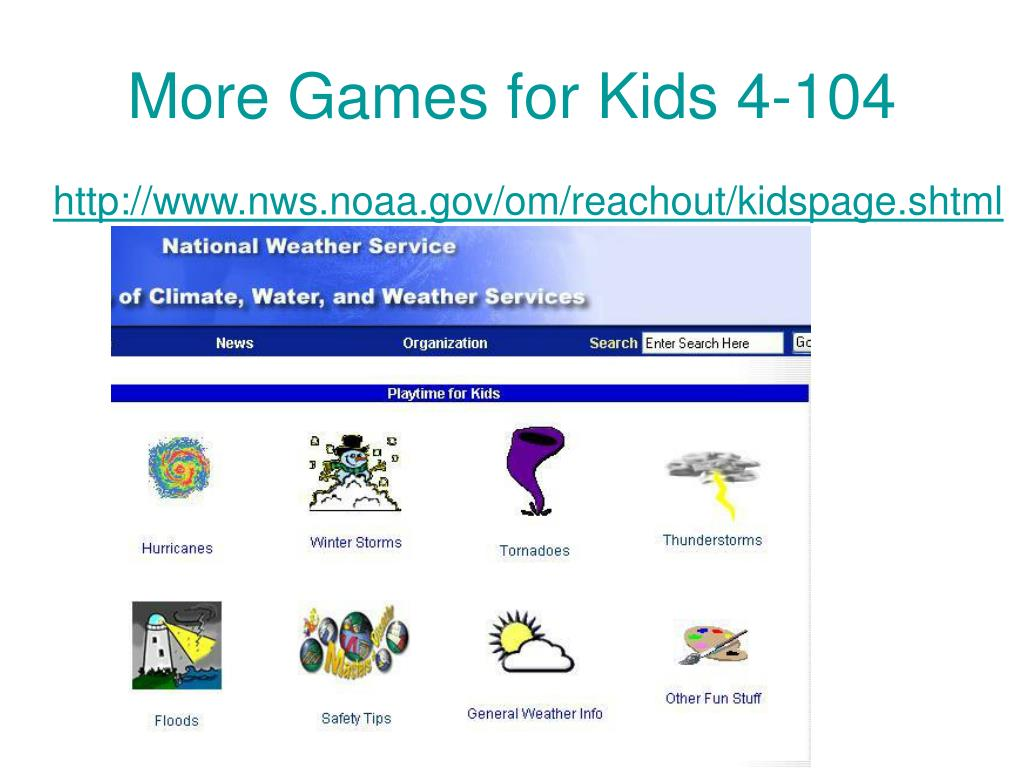 More Games for Kids 4-104