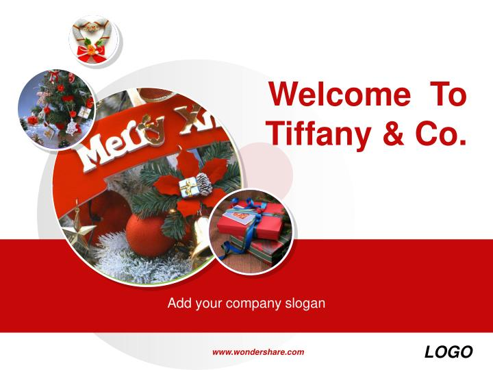 Welcome to tiffany co