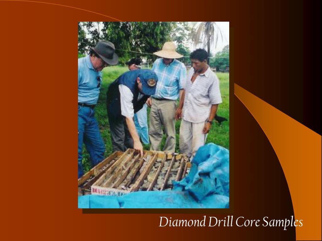 Diamond Drill Core Samples