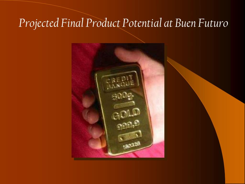 Projected Final Product Potential at Buen Futuro