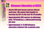 distance education at hccs4