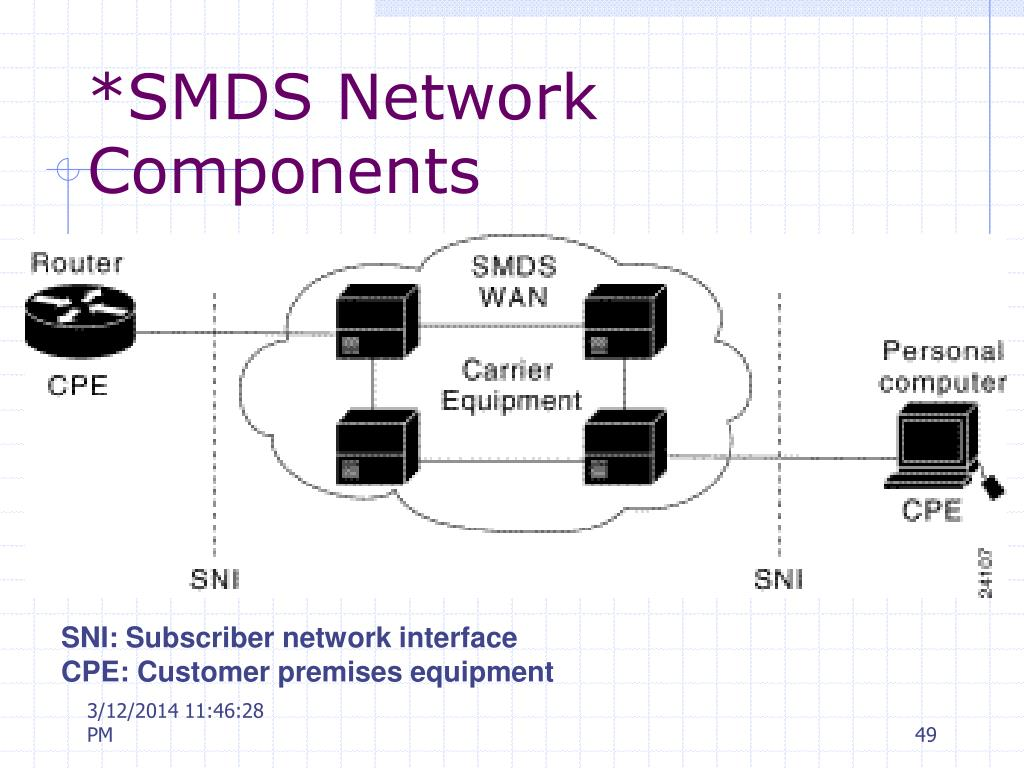 *SMDS Network Components