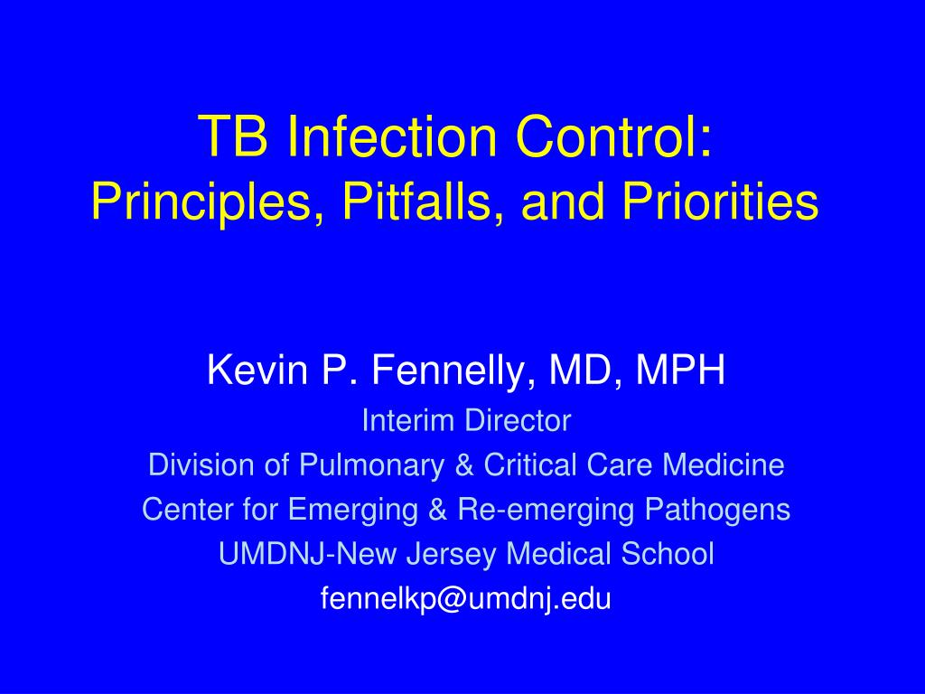 principles of infection control