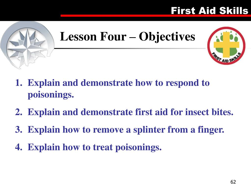 Lesson Four – Objectives