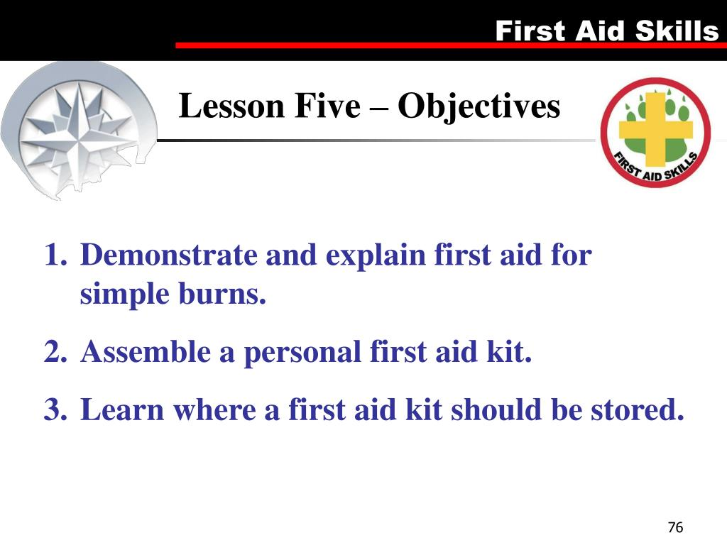 Lesson Five – Objectives