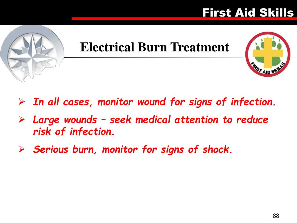 Electrical Burn Treatment