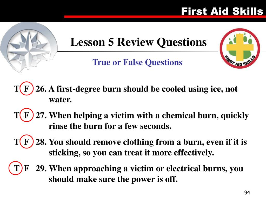 Lesson 5 Review Questions