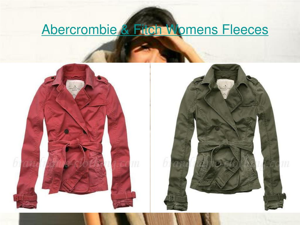 abercrombie fitch womens fleeces l.