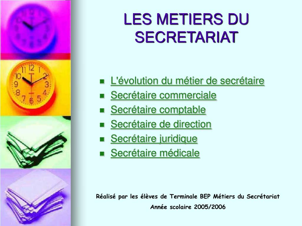 Ppt Les Metiers Du Secretariat Powerpoint Presentation Free Download Id 437953