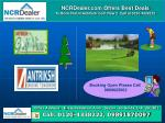 ncrdealer com offers best deals to book flat in antriksh golf view 2 call at 0120 4338222