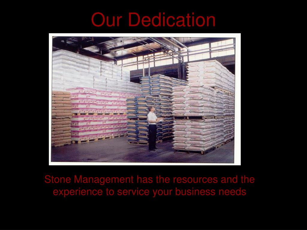 Our Dedication