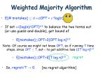 weighted majority algorithm13