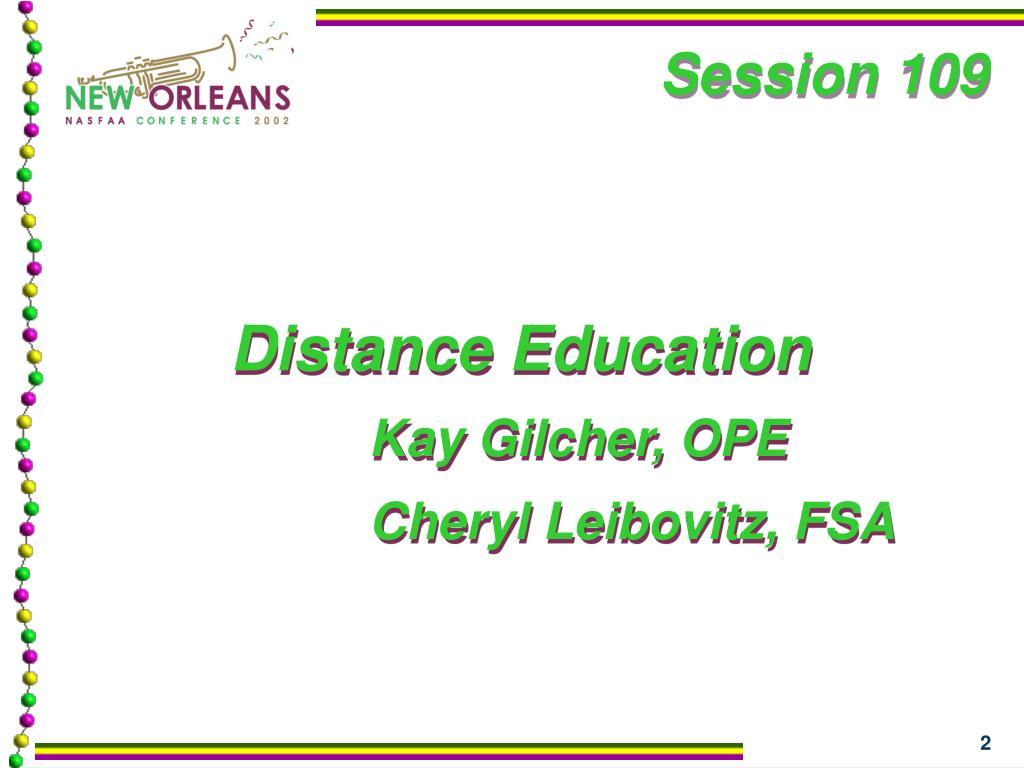 Session 109