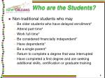 who are the students