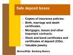 safe deposit boxes34
