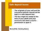safe deposit boxes36