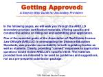 getting approved a step by step guide for secondary providers2