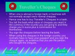 traveller s cheques