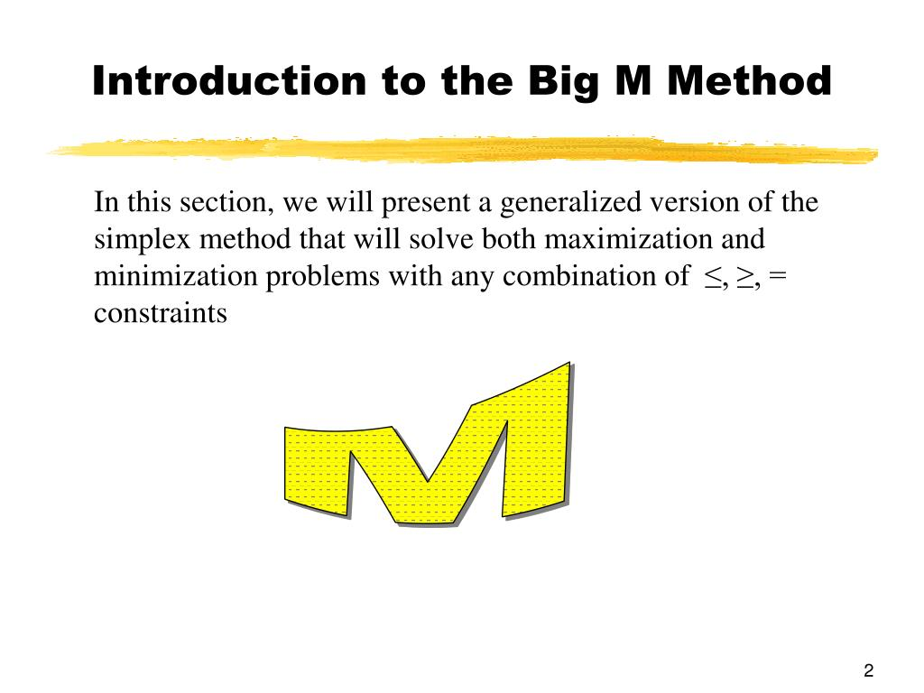 PPT - Chapter 6 Linear Programming: The Simplex Method
