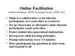 online facilitation jennifer hoffman astd learning circuits 2000 jan