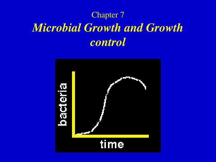 chapter 7 microbial growth and growth control n.