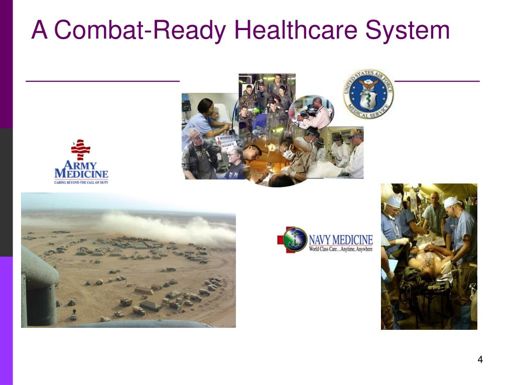 A Combat-Ready Healthcare System