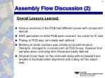 assembly flow discussion 2