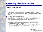 assembly flow discussion16