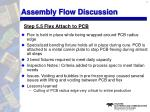 assembly flow discussion9
