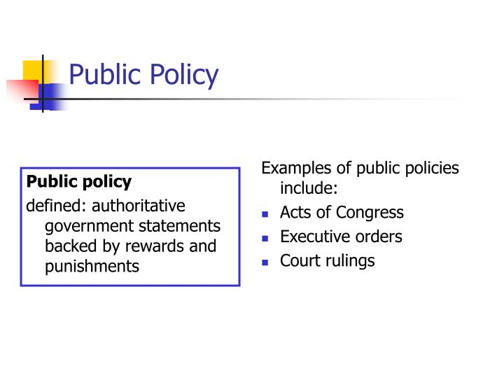 ppt - public policy powerpoint presentation - id:438283