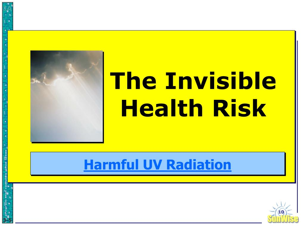 The Invisible Health Risk