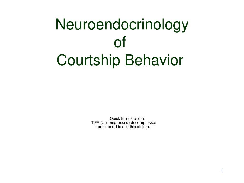 neuroendocrinology of courtship behavior l.