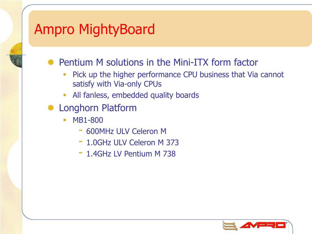 Ampro MightyBoard