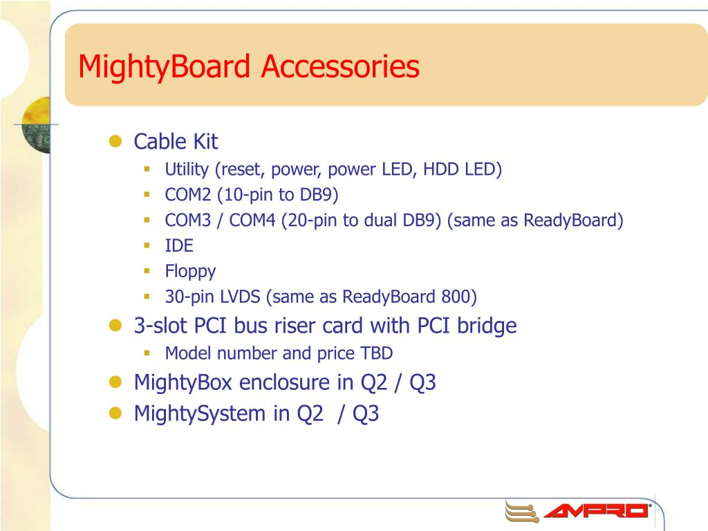 MightyBoard Accessories