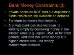 bank money constraints 3