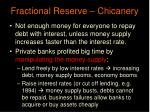 fractional reserve chicanery