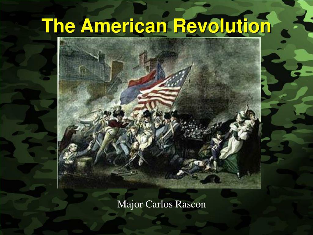 the american revolution l.