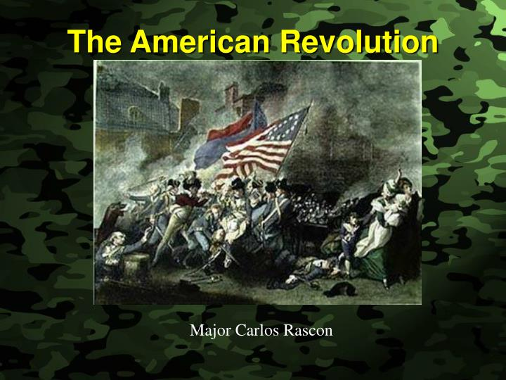 was the american revolution really revolution The event we call the american revolution wasn't really revolutionary, at least while it was underway the military struggle of 1775-1782 wasn't fought by an american people seeking to create a united, continent-spanning republic where all men were created equal and guaranteed freedom of.