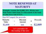 note renewed at maturity44