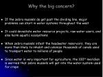 why the big concern
