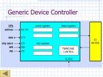 generic device controller