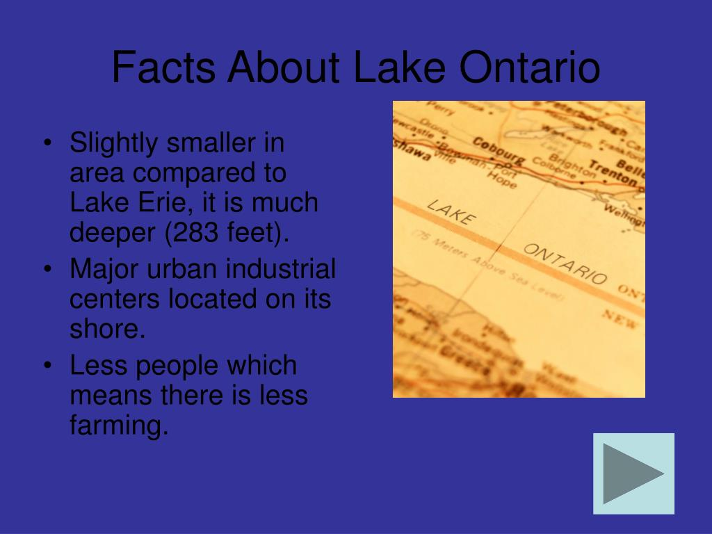 Facts About Lake Ontario