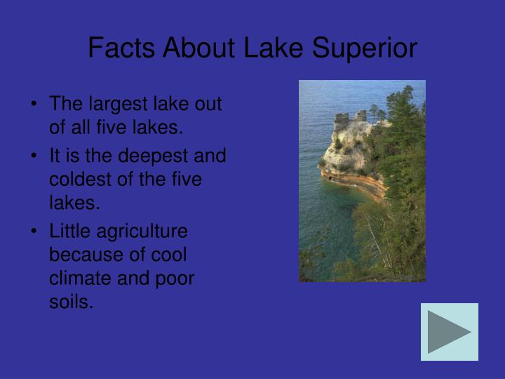 Facts about lake superior