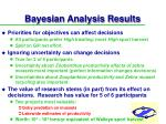 bayesian analysis results40