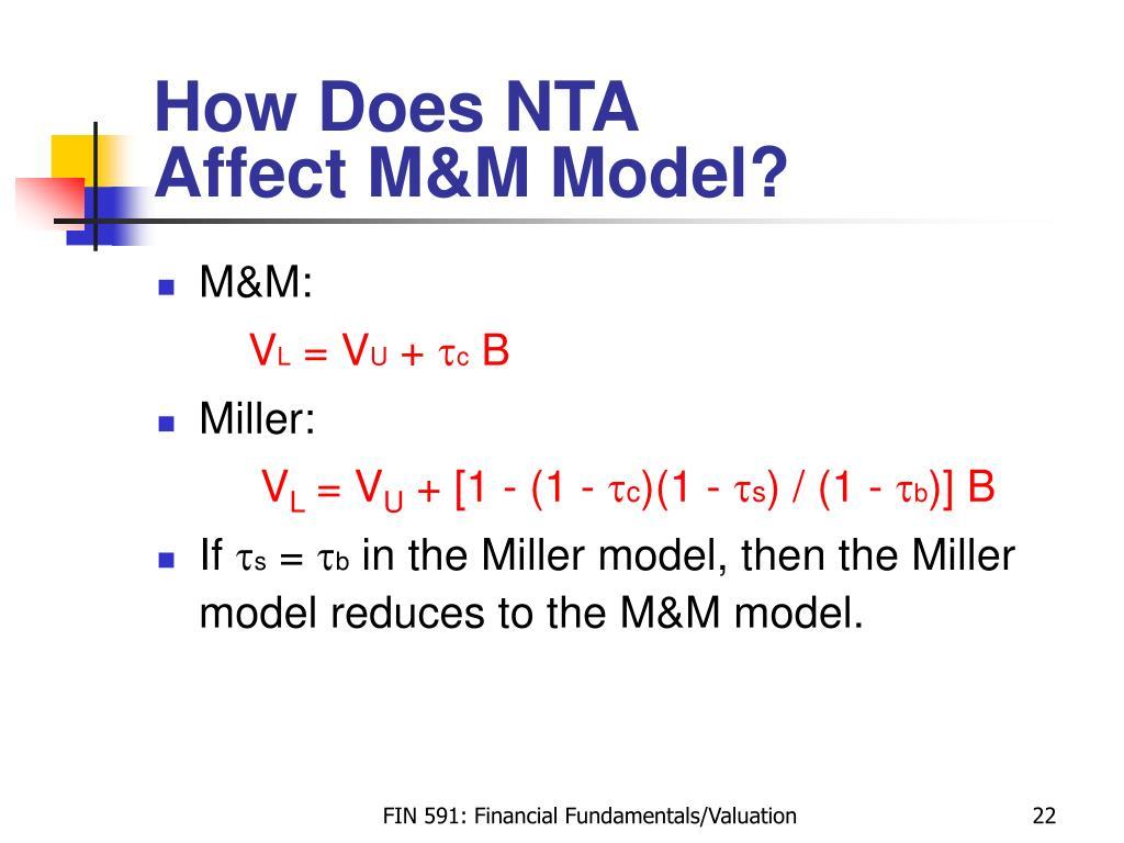 How Does NTA
