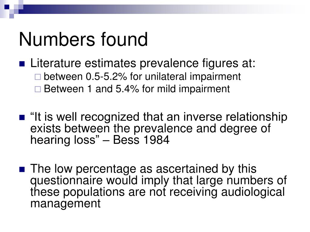Numbers found