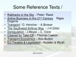 some reference texts