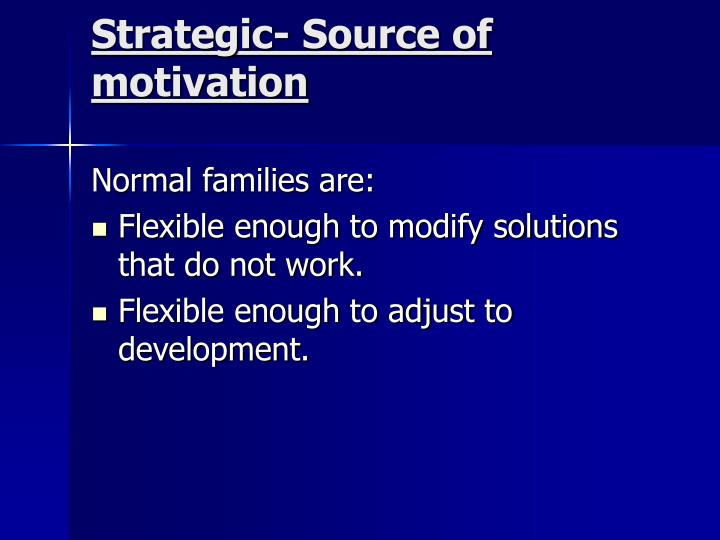 sources of motivation How can the answer be improved.