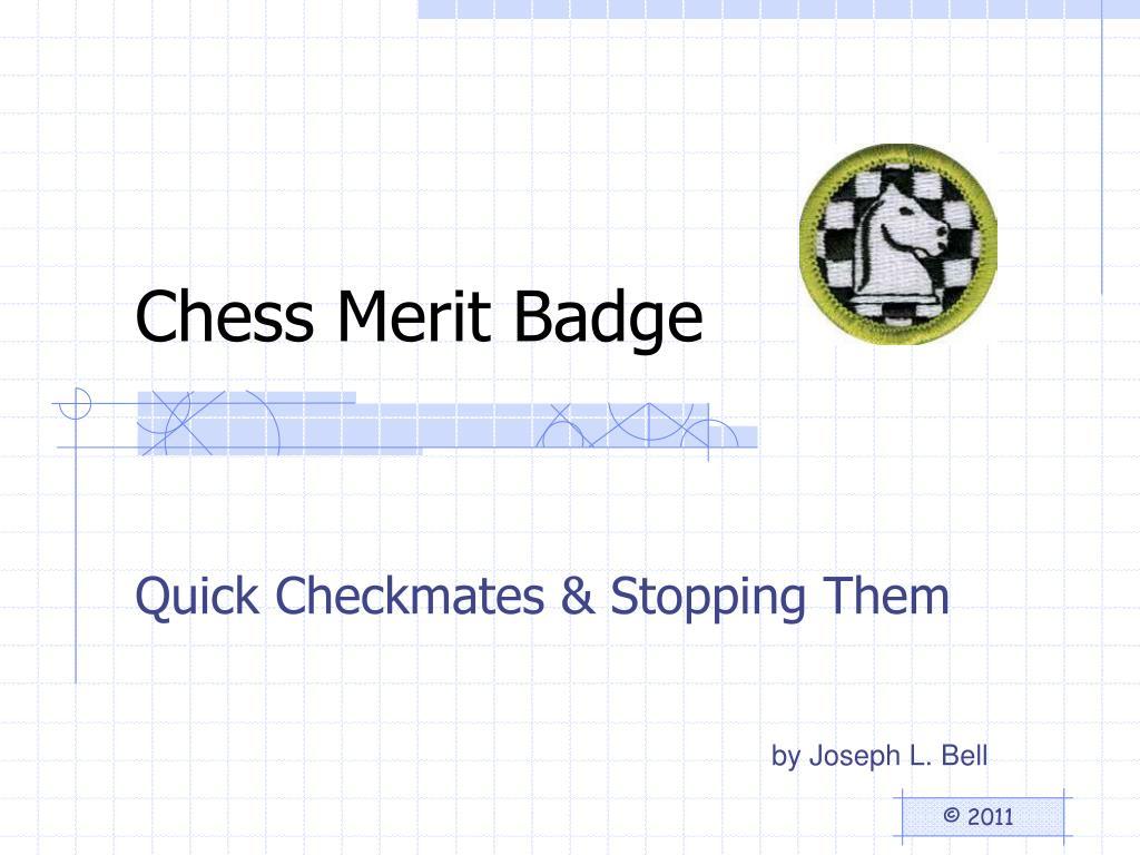 Chess Merit Badge